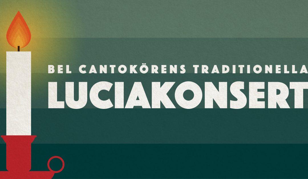 Bel Cantokörens traditionella luciakonsert