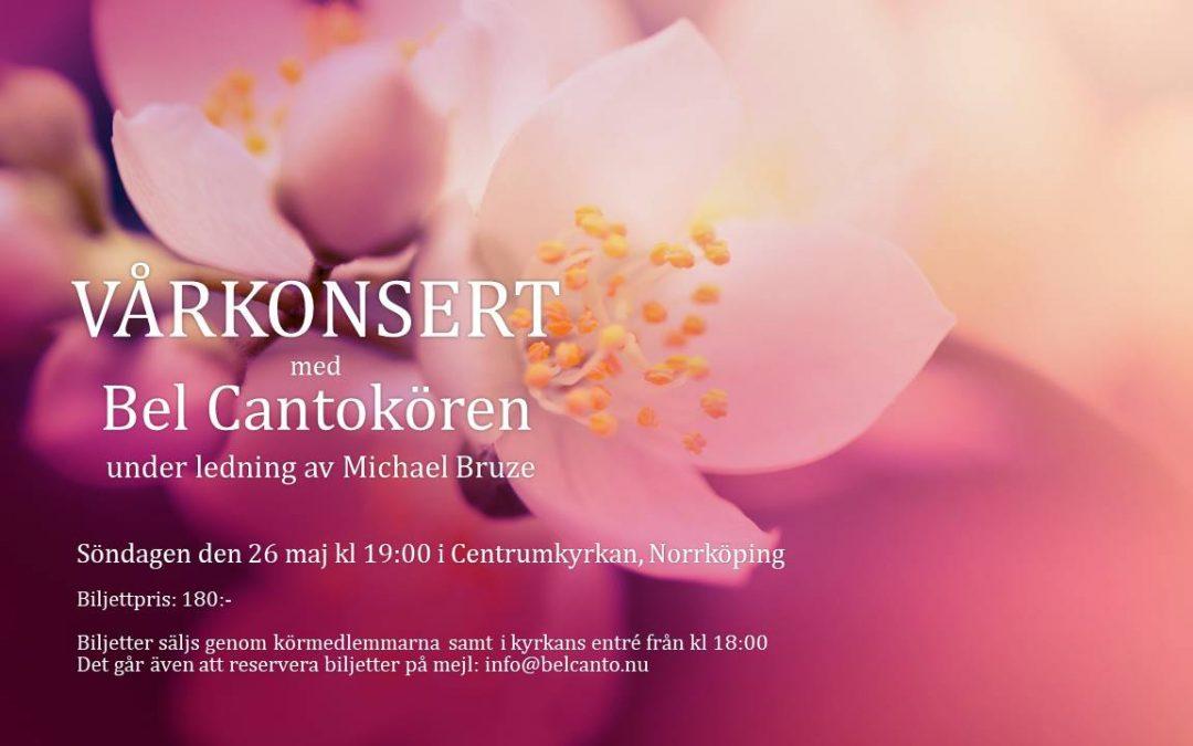 Vårkonsert med Bel Cantokören